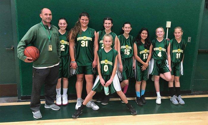 Spring Grove Girls' Basketball Team