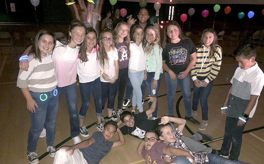 Spring Grove Students at School Dance